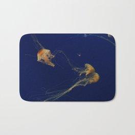 Jellyfish through the Sea Bath Mat