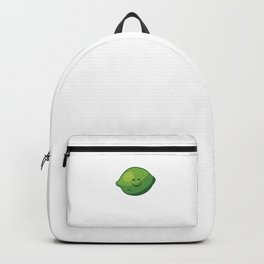 Lime Halloween Costume Funny Citrus Halloween Costume Lime Backpack