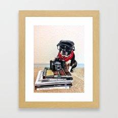 The Dog Photographer Framed Art Print