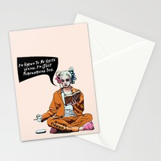 Harley Quinn Stationery Cards