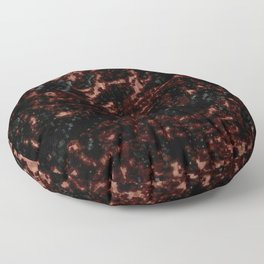 Anything At Hand - Black Floor Pillow