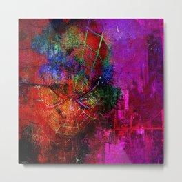 "spider""abstract""man Metal Print"