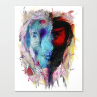 persona Canvas Prints featuring Persona by DesArte