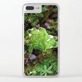 Lichen Light Clear iPhone Case