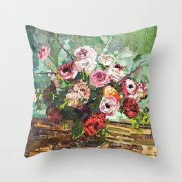 Tin Can Studio Floral 2 Throw Pillow