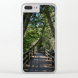 Tahquamenon Walkway Clear iPhone Case