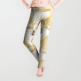Bees & Hives Leggings