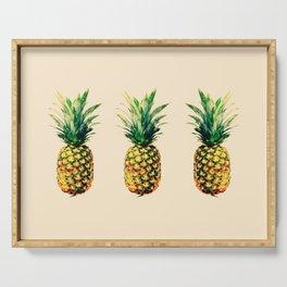Golden pineapple Serving Tray
