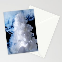 White Cosmos Stationery Cards