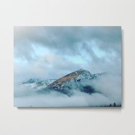 Coffee in the Clouds Metal Print