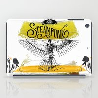 steampunk iPad Cases featuring SteamPunk by Genco Demirer