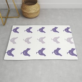 The Purple Hen Rug
