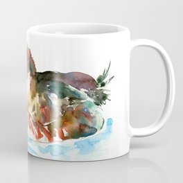 Duck, Bufflehead Duck baby Wild Duck Coffee Mug