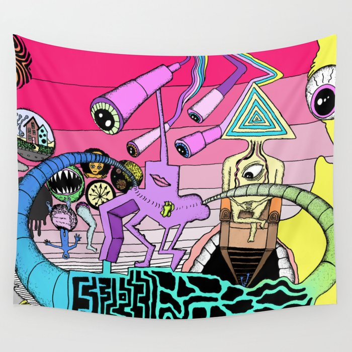 Mindscape Wall Tapestry