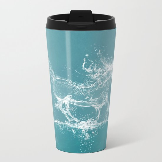 The Water Horse Metal Travel Mug