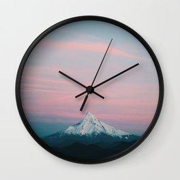 Mount Hood III Wall Clock