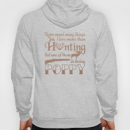 Hunting Poppy Hoody