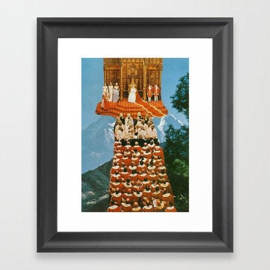 her majesty Framed Art Print