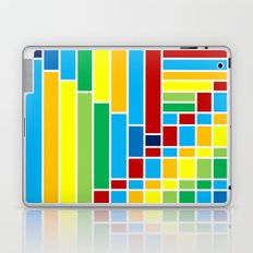 Fuzz Outline Laptop & iPad Skin