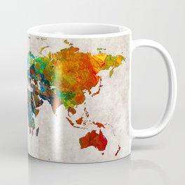 World Map 61 Coffee Mug