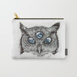 Mystic Owl Carry-All Pouch
