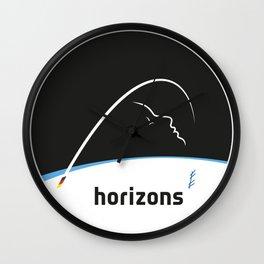 Horizons Mission Logo Wall Clock