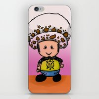 law iPhone & iPod Skins featuring Toads Law by Dama Chan