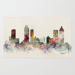 atlanta georgia skyline Rug