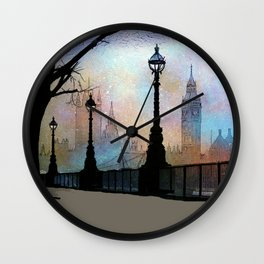 London Embankment Wall Clock