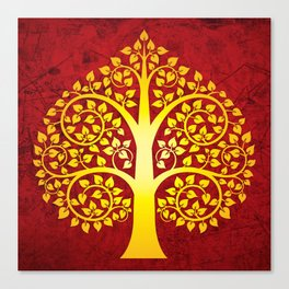 Bodhi Tree0101 Canvas Print