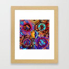 Huichol Dreams Framed Art Print