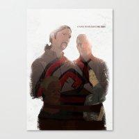 True Detective - After You've Gone Canvas Print