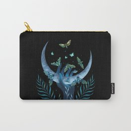 Moth Hand Carry-All Pouch