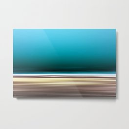 The Deep, Abstract Seascape Metal Print