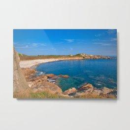 Guernsey Coastal Scenery Metal Print