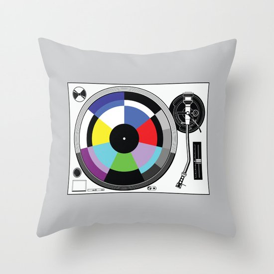 1 kHz #11 Throw Pillow