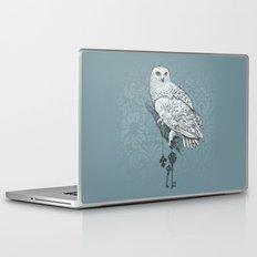 Secrets of the Snowy Owl Laptop & iPad Skin