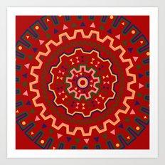wayuu pattern Art Print