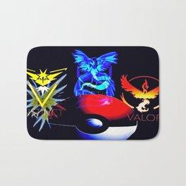 Teams Valor Mystic and Instinct Bath Mat