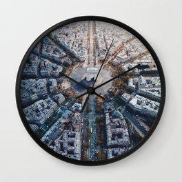 Arc De Triomphe, Paris Wall Clock