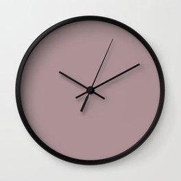 deauville mauve Wall Clock