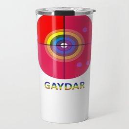 Gaydar Travel Mug