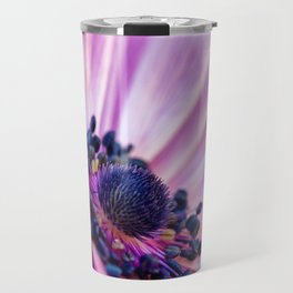 Profile in Pink Travel Mug