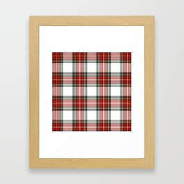 Christmas Tartan Plaid Framed Art Print