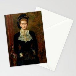 """John Everett Millais """"Countess de Pourtales, the former Mrs Sebastian Schlesinger"""" Stationery Cards"""