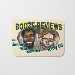 BOOZE REVIEWS Bath Mat