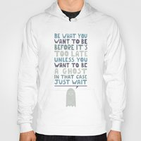 motivational Hoodies featuring Motivational Speaker by Teo Zirinis