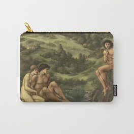 Edward Burne-Jones - The Garden Of Pan Carry-All Pouch