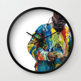 I Feel Blessed / Biggie Portrait Wall Clock