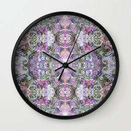 Lavender Melodies Wall Clock